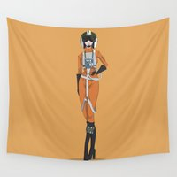 rebel Wall Tapestries featuring Rebel pilot by estelavillas