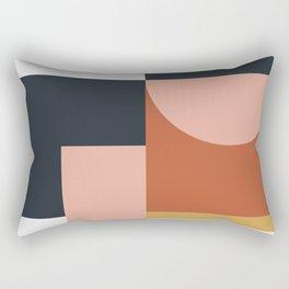 Abstract Geometric 09 Rectangular Pillow