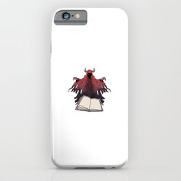 Reading Is Fun Motive for a Bookworm iPhone Case