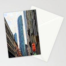 Frankfurt Germany - Red Light Stationery Cards