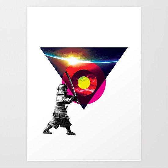 Saburau Art Print