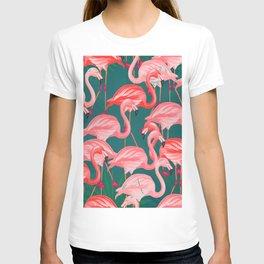 flamingo tropical T-shirt