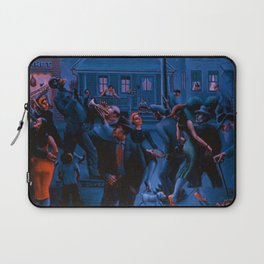 African-American Classical Masterpiece Gettin' Religion by Archibald Motley Laptop Sleeve