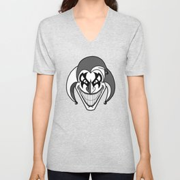 Twisted Jester  Unisex V-Neck