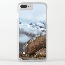 Patagonian Highway, Los Lagos, Chile Clear iPhone Case