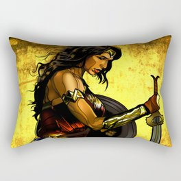 Amazonian Woman Rectangular Pillow
