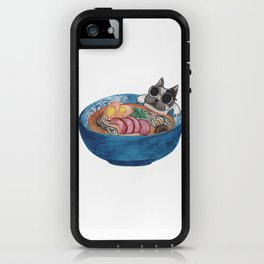 Frenchie Ramen iPhone Case