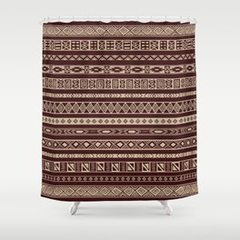 African ornament Shower Curtain