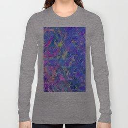 Mirror City Purple Long Sleeve T-shirt