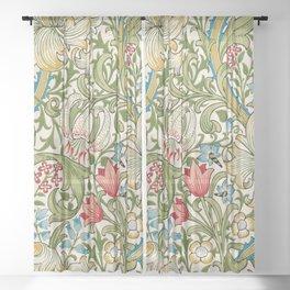 William Morris Art Nouveau Vintage  Sheer Curtain