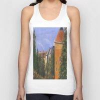 prague Tank Tops featuring Prague Castle by Vivid Perceptions