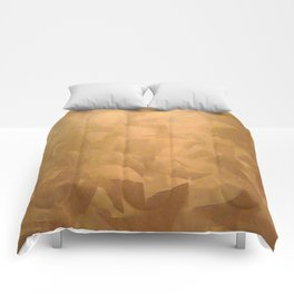 Brushed Copper Metallic - Beautiful - Rustic Glam - Faux Finishes - Metallic Paint - Corbin Henry Comforters