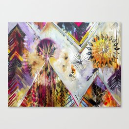 """Burn Bright"" Original Painting by Flora Bowley Canvas Print"