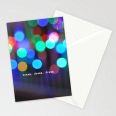 Dream, dream, dream... Stationery Cards