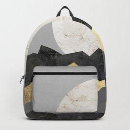 Landscape collage marble IV Backpack