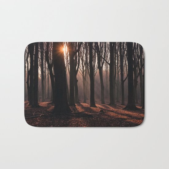 Up In The Woods Bath Mat