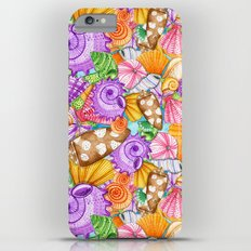 Seashells Pattern Slim Case iPhone 6s Plus
