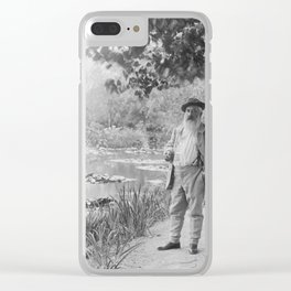 Claude Monet a Giverny Clear iPhone Case
