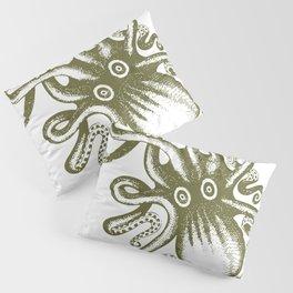 Vintage Octupus Pillow Sham
