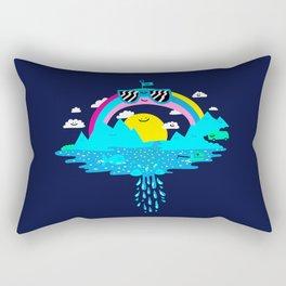 Happy Rainbow Land Rectangular Pillow