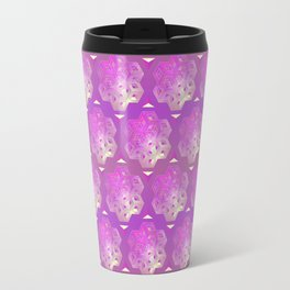 3D geometric shape Travel Mug