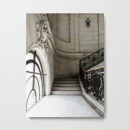 Glamorous Stairwell in Geneva Metal Print