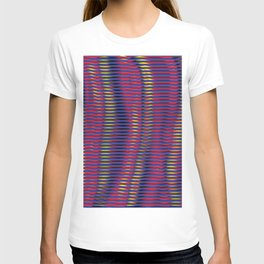 wave lines T-shirt