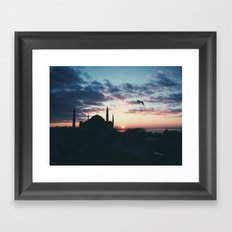On The Second Day Framed Art Print