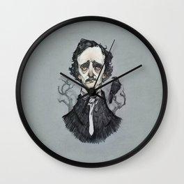 Mr. Poe  Wall Clock