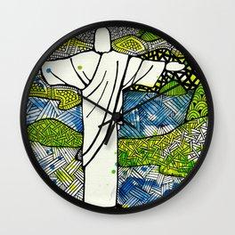 Rio de Janeiro - Brazil Wall Clock