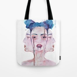 Three Faced Tote Bag