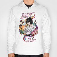fandom Hoodies featuring Fandom Pride: Asexuality Special, L Death Note by Cinensis