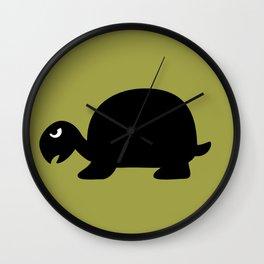 Angry Animals: Tortoise Wall Clock