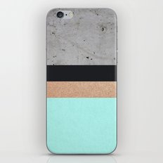 Abstract Turquoise Pattern iPhone & iPod Skin