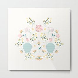 Italian garden composition Metal Print