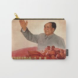 Vintage poster - Mao Zedong Carry-All Pouch