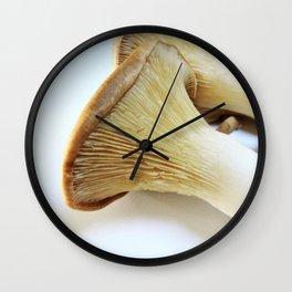 King Mushroom up close Wall Clock