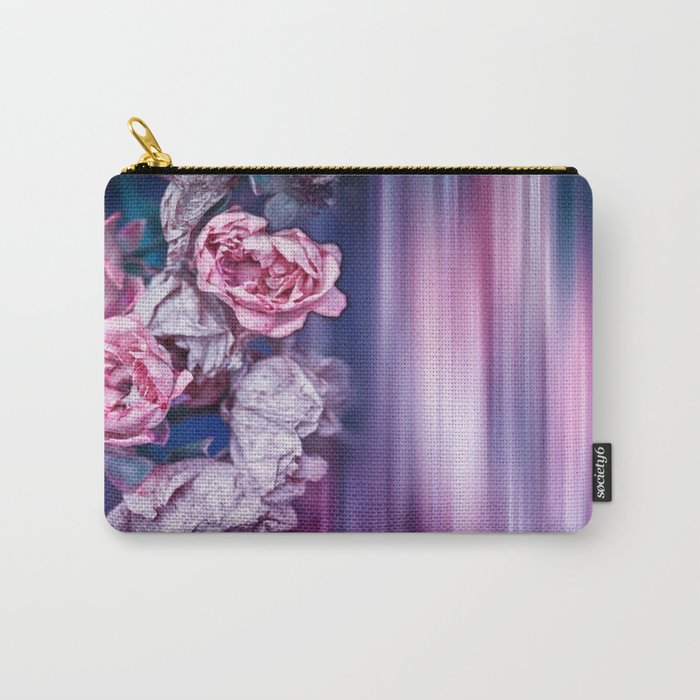ROSES IMPRESSIONS Carry-All Pouch