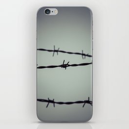 Barbed Wire iPhone Skin