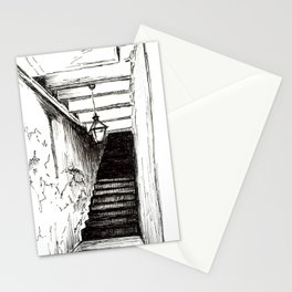 Dark Staircase Stationery Cards
