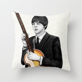 Macca Throw Pillow