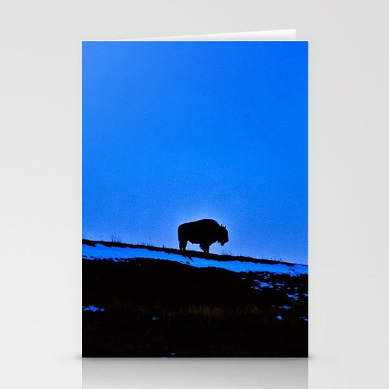 The Last Buffalo Stationery Cards