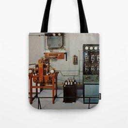 Vintage Comunication Tote Bag