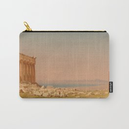 Ruins of the Parthenon Oil Painting by Sanford Robinson Gifford Carry-All Pouch
