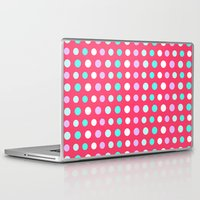 polka dots Laptop & iPad Skins featuring Polka Dots by Ornaart