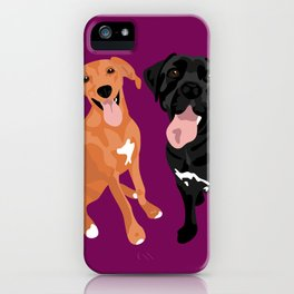 Margo and Molly iPhone Case