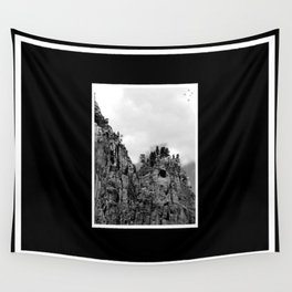 Cliffs of Zion Wall Tapestry