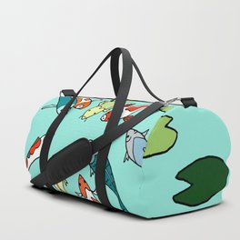 Koi Fish Meeting Duffle Bag
