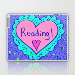Reading! Laptop & iPad Skin