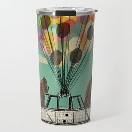 grizzly days lets go ballooning  Travel Mug